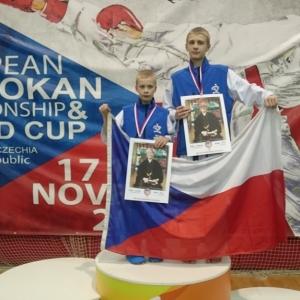 Karate Shotokan Ryu Žamberk zlaté na Mistrovství Evropy